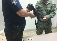 Revisa y verifica la Sedena el armamento de elementos de la Agencia Estatal de Investigación y Ministerios Públicos
