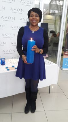 450 Avon Associates in South Africa supported our Speak Out Against Domestic Violence initiative by lighting candles and purchasing empowerment products.