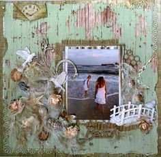 Imagine the endless possibilities of themes you can do and objects you can paste to make these pretty frames (that tell a story too!)