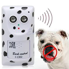 Humanely Ultrasonic Anti No Bark Control Device Stop Dog Barking Silencer >>> Want to know more, click on the image.