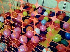 Teacher Tom: Balloon Cage!