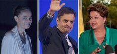 Dilma tem 34%, Marina, 29%, e Aécio, 19%