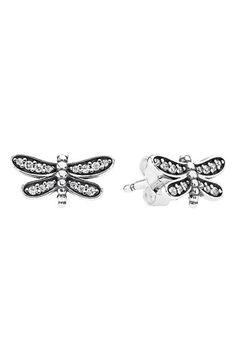 Mini Dragonfly Stud Earrings