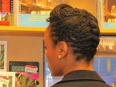 Love these mini twist. Great protective style.