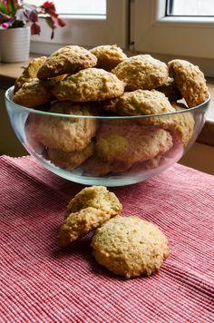 Mangiare squisito ~ Foodblog: Ovesné kokosové sušenky