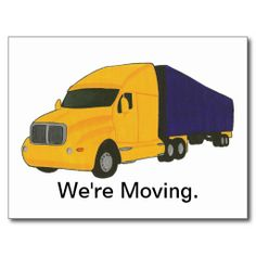 We're Moving, change of address postcards. Easily type in your moving info online, before placing your order. You can also type in the addressee's address information too. Moving Labels, Moving Supplies, Thank You Postcards, Moving Tips, Change Of Address, Postcard Design, Special Promotion, Postcard Size, Smudging