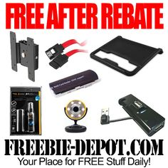 FREE AFTER REBATE – 7 Electronics Items from Fry's - Exp 5/22/14