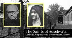 Maximilian Kolbe Edith Stein Auschwitz Martyrs