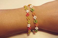 Blumchen Armbander Basteln Familie De Blumen Armband Armband Selber Machen Armband Kinder