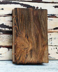 """Wooden Notebook """"Delamere Forest"""""""