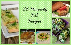 35 Heavenly Fish Recipes - great recipes for #heathyeating #Lent, or yummy family meals!