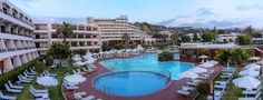 Cosmopolital Hotel in Rhodes Greece: trianta bay hotel, resorts in rhodes, accommodation greece rhodes Cosmopolitan, Hotel All Inclusive, Greece Rhodes, Beach Resorts, Hotel Offers, Swimming Pools, Places, Outdoor Decor, Rhodes