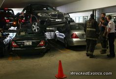 BMW X-Series X5 crashed in Chicago, Illinois