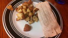 Cheeseburger Wraps & Roasted Dijon Potatoes - neverthesamedish.com