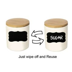 Have you seen these Chalkboard Labels? Such an innovative idea.