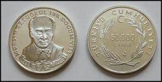 Muhsin Ertuğrul 100. Doğum Yılı-1992-çil - GÜMÜŞ HATIRA PARALARI.