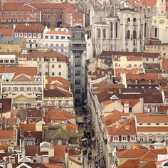 Elevador da Santa.Justa Lisbon - Szukaj w Google Gustave Eiffel, Multi Story Building, Google, Elevator, Skinny