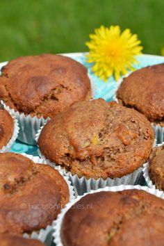 Glutenvrije Banaanmuffins zonder geraffineerde suiker