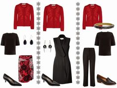The Vivienne Files: An Embellished Cardigan: How to Dress Up a Starting From Scratch Wardrobe