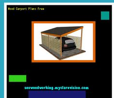 Wood Carport Plans Free 074844 - Woodworking Plans and Projects!