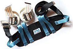 Gait Belt Set of 3 - Walking Transfer and Physical Therapy - Easy Release Metal Closures - Adjustable to 67 Inches - Durable Construction - Highest Quality Best Value