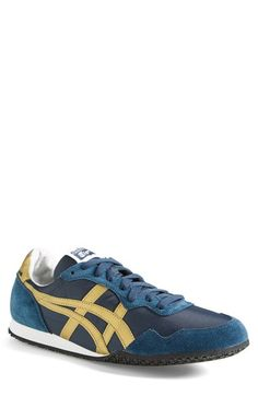 Free shipping and returns on Onitsuka Tiger™ 'Serrano' Sneaker (Men) at Nordstrom.com. Contrast-color stripes up the energy of a retro-inspired sneaker with a cool iconic look.