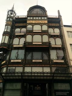 Art Nouveau Architecture in Brussels Musical Instruments Museum