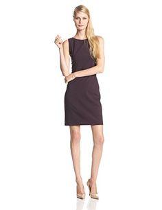 Theory Women's Betty 2 Urban Sheath Dress,Dark Merlot,8 - http://womencontemporarydress.ellprint.com/theory-womens-betty-2-urban-sheath-dressdark-merlot8/