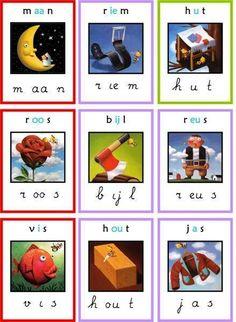 letterkaarten veilig leren lezen
