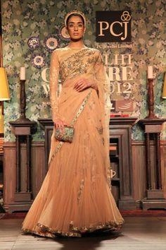 Sabyasachi Delhi Couture Week 2012 #sabyasachi #delhicoutureweek2012 #saree #saree #lehnga #embellished #embroidery