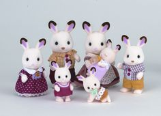 Everybody knows that Sylvanian Families launched in Japan on 20th March 1985. But did you know that all of the furniture was green, and the bath tub and tea sets were made from real china? Or that Sylvanian Families is the only brand to have won 'Toy of the Year' over three consecutive years (1987, 88 & 89)?