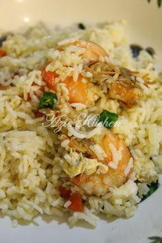 Azie Kitchen: Nasi Goreng Cina Yang Sedap