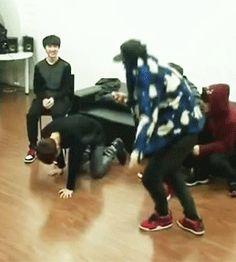 Baekhyun, The lead rapper. xd hahaha