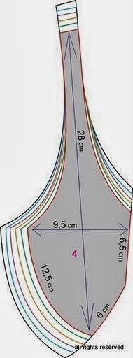 CAST BRA v různých velikostech | Řezání a šití