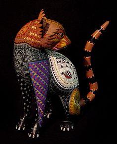Cat by Jacobo + Maria Angeles Ojeda, San Martin Tilcajete