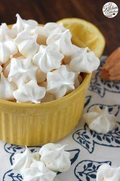 Lemon Meringue Kiss Cookies Recipe l www.a-kitchen-addiction.com