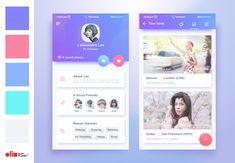 8가지 컬러차트로 보는 모바일 앱디자인 트렌드 : 네이버 블로그