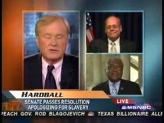 Congressman Steve Cohen appears with Rep. Jim Clyburn (D-SC), the House Majority Whip, to discuss slavery reparations on Hardball with Chris Matthews . Reparations For Slavery, Steve Cohen, Chris Matthews, State Government, Video Clip, Civil Rights, Black People, Black History, American