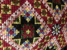 Beautiful part of a Norwegian national costume Folk Costume, Costumes, Going Out Of Business, Star Patterns, Folklore, Needlepoint, Norway, Chiffons, Textiles