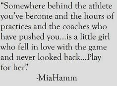 Motivational Soccer Quotes Mia Hamm