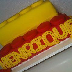 Bolo LEGO ... SINHÁ AÇÚCAR em São Paulo / SP ... Encomendas: tim (11) 98671-6390 / vivo  (11) 95786-3745 ... sinhaacucar.blogspot.com.br ... sinhaacucar@gmail.com #arteemaçúcar #festa #bolo  #sugarparte #cake #partyideas #kids #kidsparty #aniversários #fe