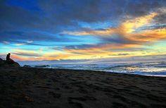 Moonstone Beach Sunset.  Photo credit to @_california_native_