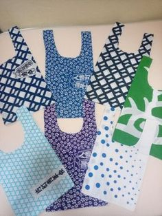 Handmade Home, Repeating Patterns, Couture, Handicraft, Shopping Bag, Sewing Crafts, Diy And Crafts, How To Make, Bags