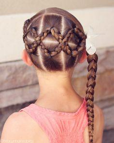 Cute hairstyles for short hair, summer hairstyles, hair dos for kids, short Lil Girl Hairstyles, Kids Braided Hairstyles, Princess Hairstyles, Summer Hairstyles, Teenage Hairstyles, Cut Hairstyles, Braided Ponytail, Girl Hair Dos, Baby Girl Hair