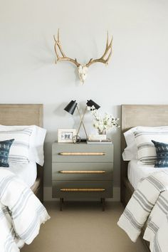 Promontory Project - Studio McGee Room Ideas Bedroom, Home Bedroom, Bedroom Decor, Bedroom Kids, Bedroom With Tv, Master Bedroom, Bedroom Brown, Bedroom Beach, Studio Mcgee