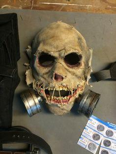 Scarecrow build: mask (Arkham).