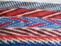 Finger weaving/ Indian braiding