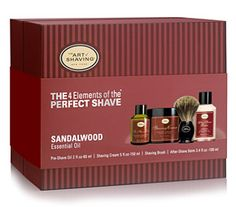 The Perfect Shave Kit - $115.00 // Give him the gift that gives back in the form of a smooth, kissable face.