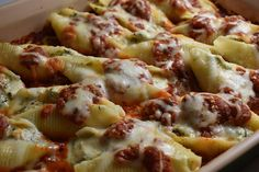 Stuffed Shells With Spinach & Parmigiano Reggiano