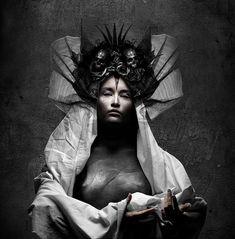 """Seth Siro Anton - Moonspell """"Night Eternal"""" artwork"""